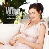 Pregnant Megan Gale Pictures and Interview in Who Magazine