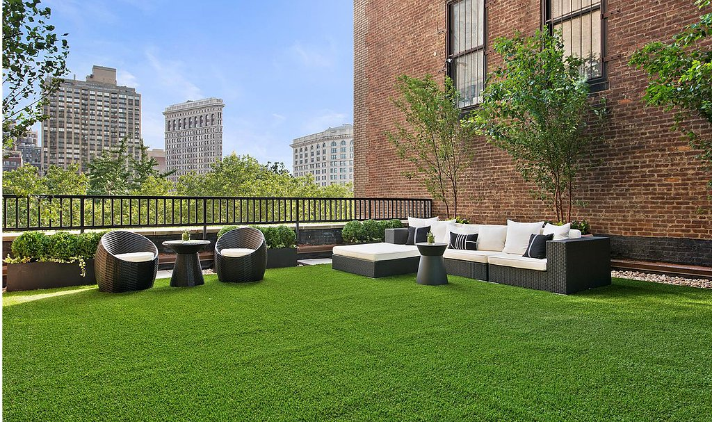 Forget Madison Square Park; this home includes a personal minipark. Source: Douglas Elliman Real Estate