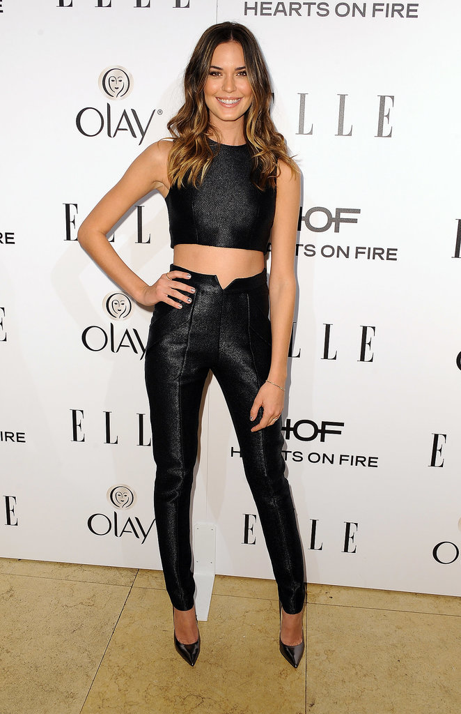 Odette Annable at the Elle Women in Television Celebration