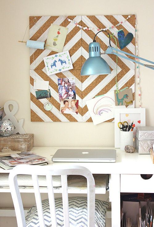 Patterned Cork Board