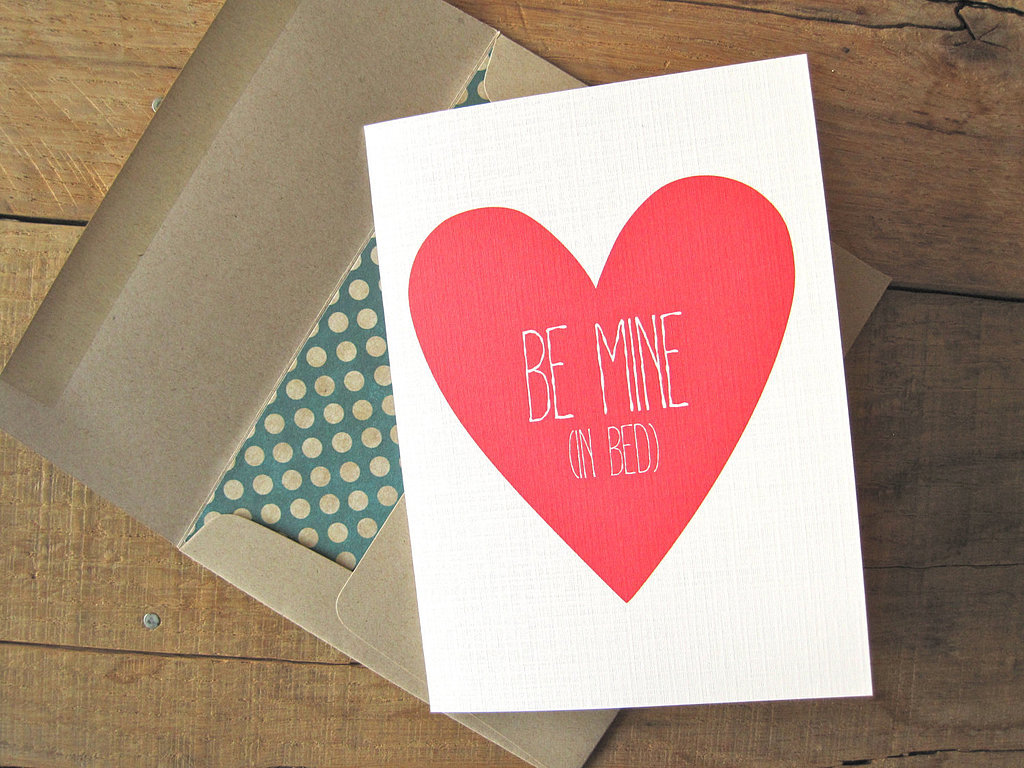 Be mine (in bed) ($4)