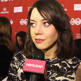 Aubrey Plaza Life After Beth Interview