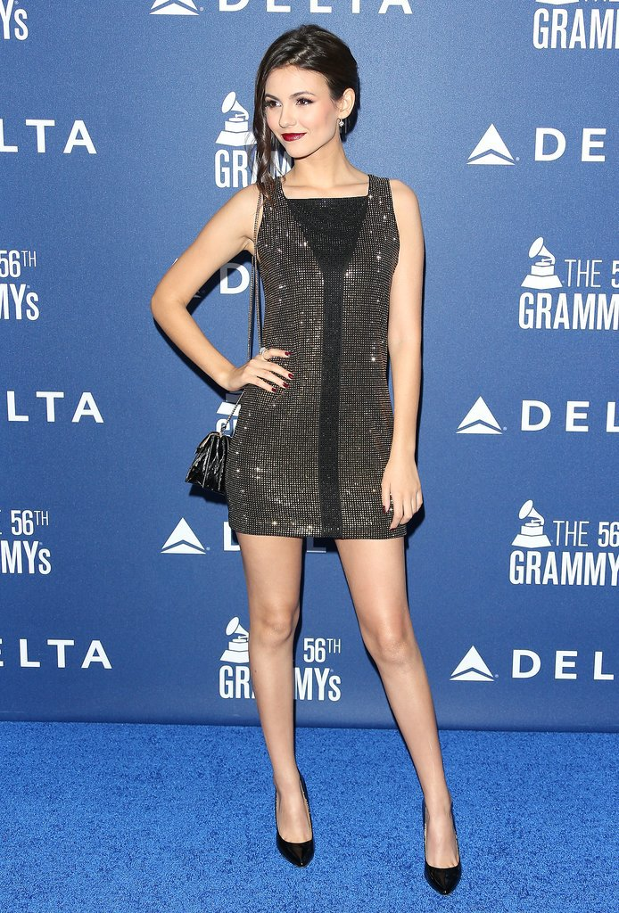 Victoria Justice at Delta's Grammy Weekend Reception