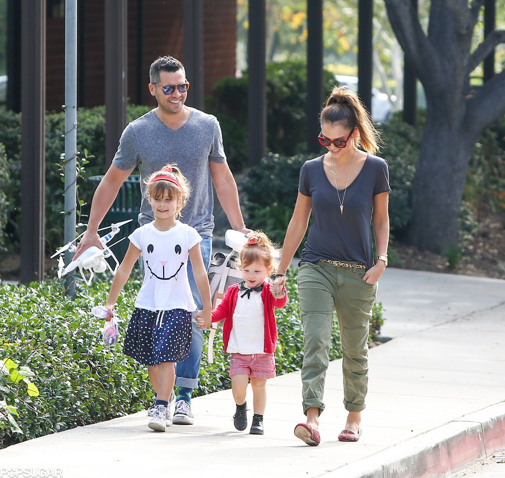 Jessica Alba Enjoys Some Crazy-Cute Family Time