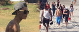 A Shirtless Justin Bieber Pops Up in Panama After Arrest