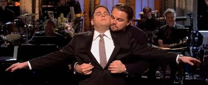 Leonardo DiCaprio Re-Creates Titanic With Jonah Hill on SNL