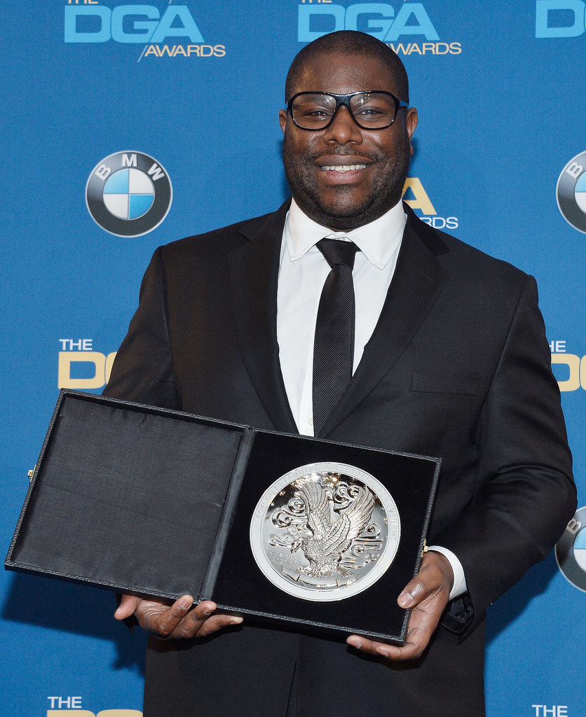 Director Steve McQueen was honored at the event.