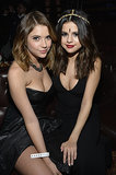 Ashley Benson and Selena Gomez attended the Beats Music launch party in LA.