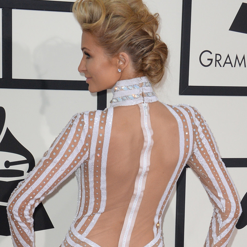 Paris Hilton's Dress at Grammys 2014