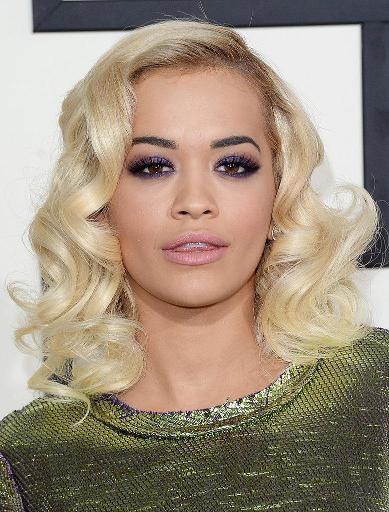 Rita Oras Hair And Makeup At The Grammys 2014 POPSUGAR