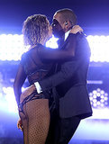 "Beyoncé and Jay Z brought their love to the Grammys stage with a performance of ""Drunk in Love"" to open the show."
