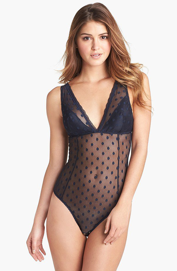 Mimi Holliday Dotty Nuit Bodysuit ($155)