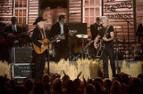 Willie Nelson and Kris Kristofferson performed together.