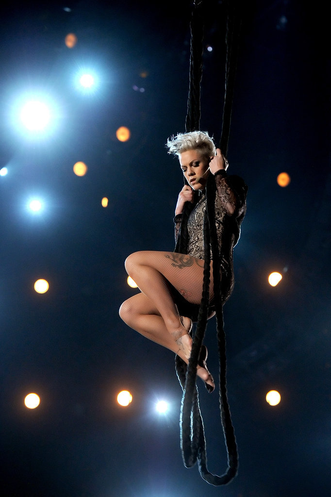 Pink Did Acrobatics . . . Again