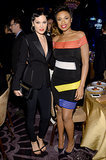 Jennifer Hudson and Jessie J at the Pre-Grammys Gala
