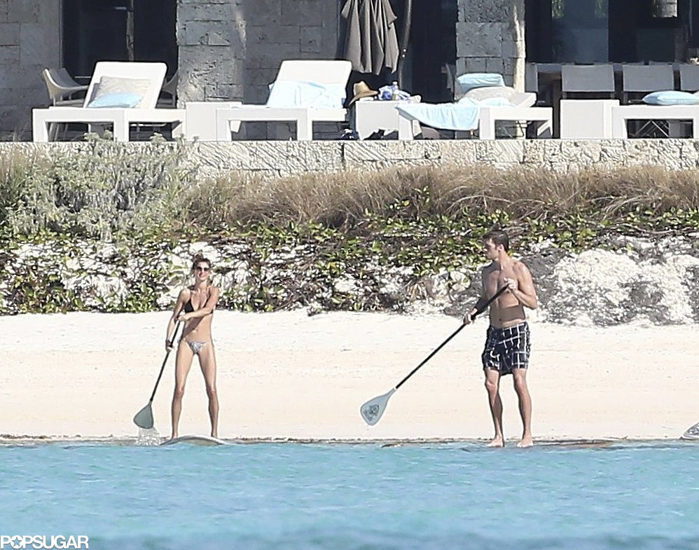 Gisele and Tom Ride the Waves Like Pros