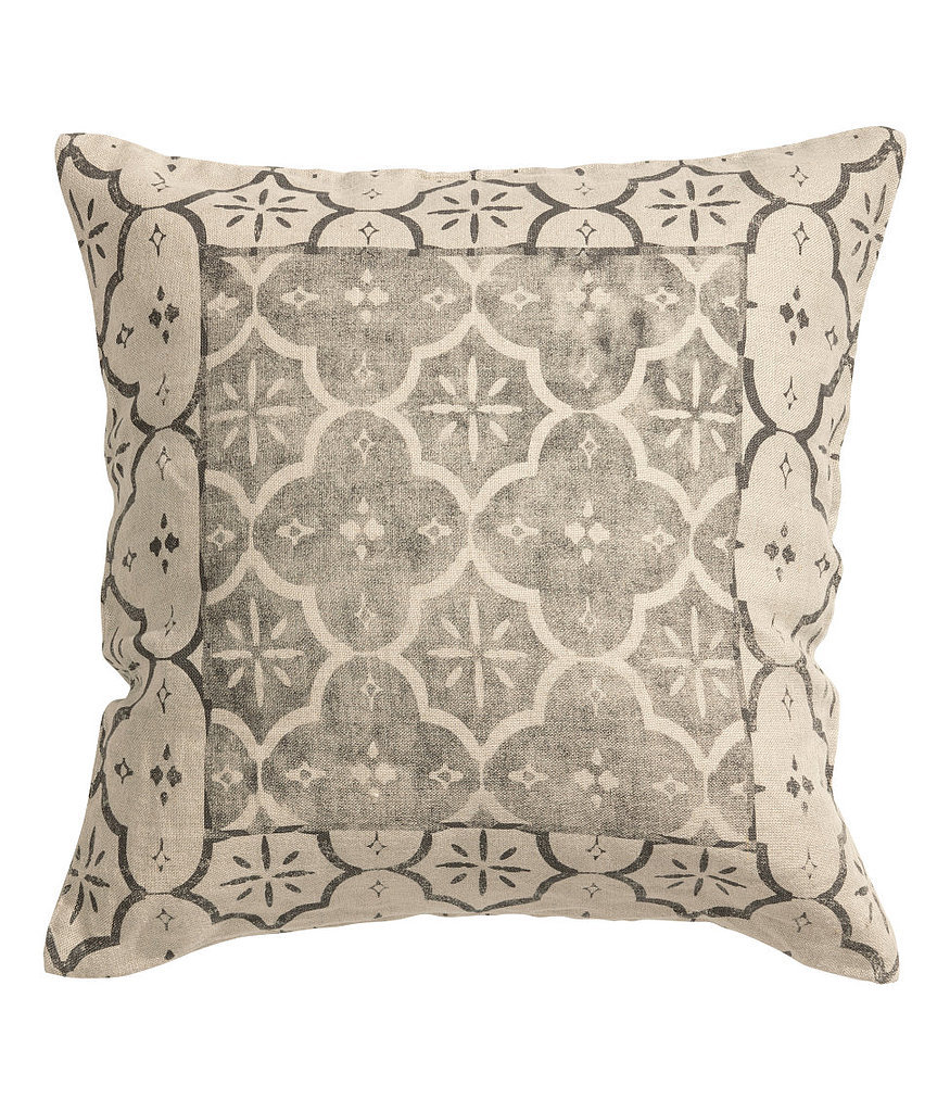 This linen pillow ($18) is perfect for a neutral space.