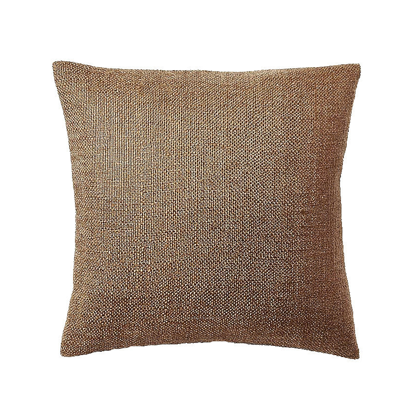 Add subtle sparkle and a soft sheen with a metallic knit pillow ($20, originally $29).