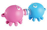 No better way to show your love than by gifting your SO this weirdly adorable kissing octopus USB set ($60).