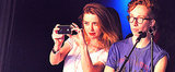 Amber Heard Rocks Out to Johnny Depp With Her Massive New Bling