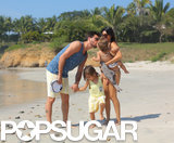 Kourtney and Scott Share a Swinging Beach Vacation With Their Kids