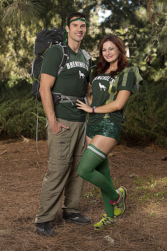 Names: Brendon Villegas and Rachel Reilly Connection: Newlyweds Ages: 33 and 30 Hometown: Los Angeles Current occupations: Ph.D. student in biomedical physics at UCLA; TV personality Previous season: Third place in season 20