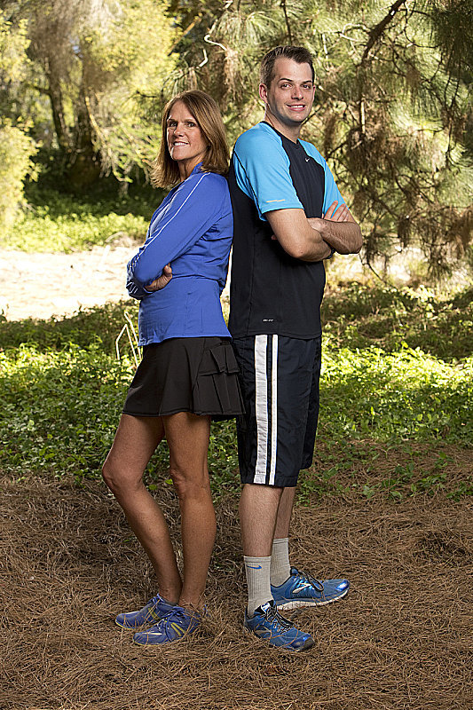 Names: Margie O'Donnell and Luke Adams Connection: Mother/son Ages: 56 and 28 Hometowns: Colorado Springs, CO, and Philadelphia, PA Current occupations: RN and senior clinical research associate; advancement associate/motivational speaker Previous seasons: Third place in season 14 and eighth place in season 18