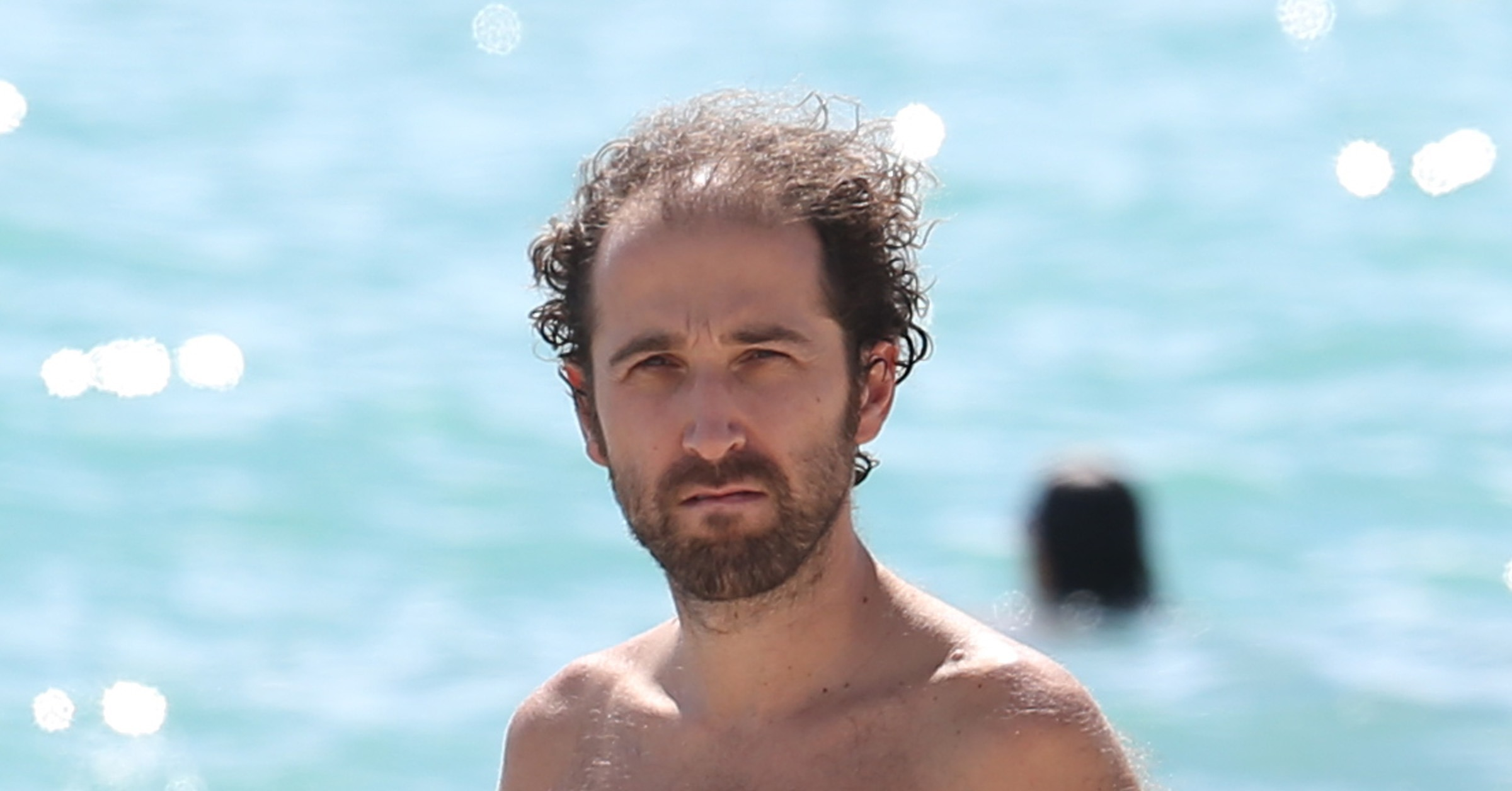 thomas bangalter spent time on a miami beach in october