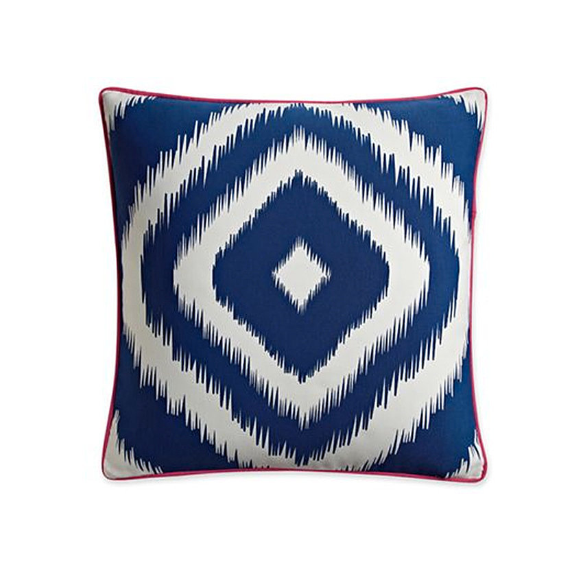 Add a pop of blue to your room with a bold, blue accent pillow ($18, originally $20).