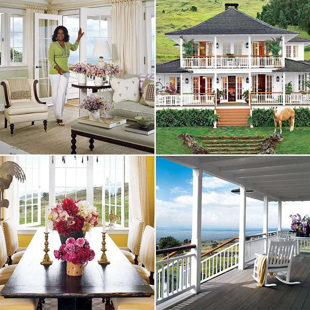 Happy Birthday, Oprah! Peek Inside Her Homes
