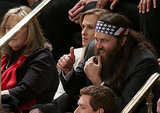 Willie Robertson from Duck Dynasty gave a thumbs-up.