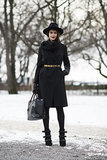 If you're going all black, don't underestimate the importance of great accessories.  Source: Le 21ème | Adam Katz Sinding