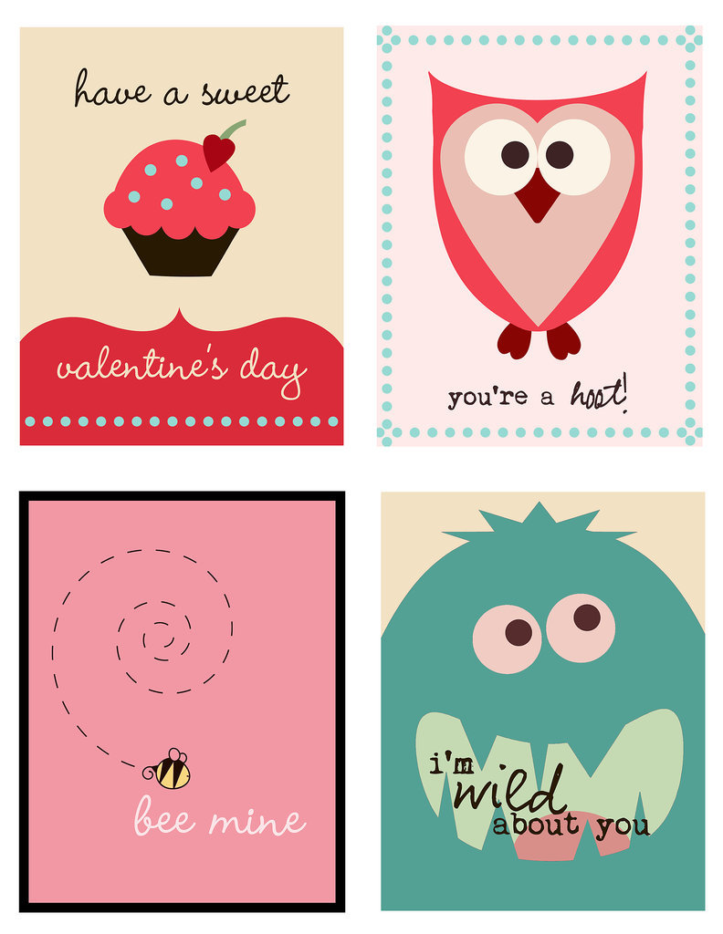 Quirky Fun Valentine's Printable