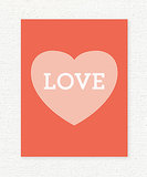Love Heart Valentine's Printable