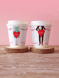 Je T'aime Coffee Cup Wrapper Printables