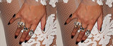 Re-Create Beyoncé's Custom Grammys Manicure