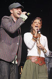 Fergie and Justin harmonized during a February 2005 charity concert to benefit tsunami relief in LA.