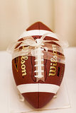 "Football Ring ""Pillow"""