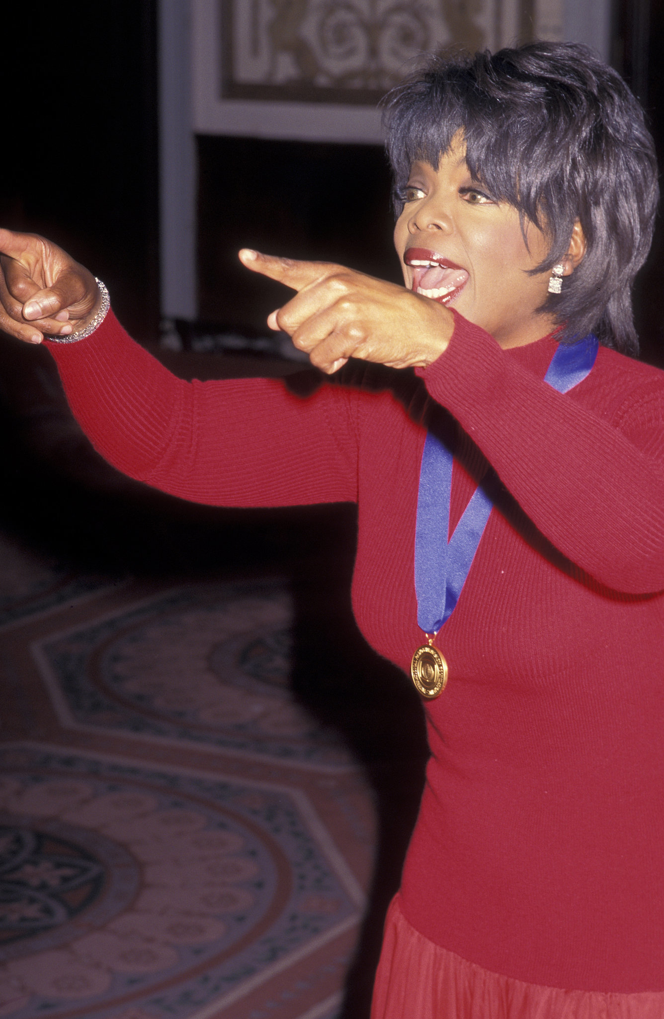 She was honored at the International Radio and Television Society Foundation Gold Medal Awards in 1996.