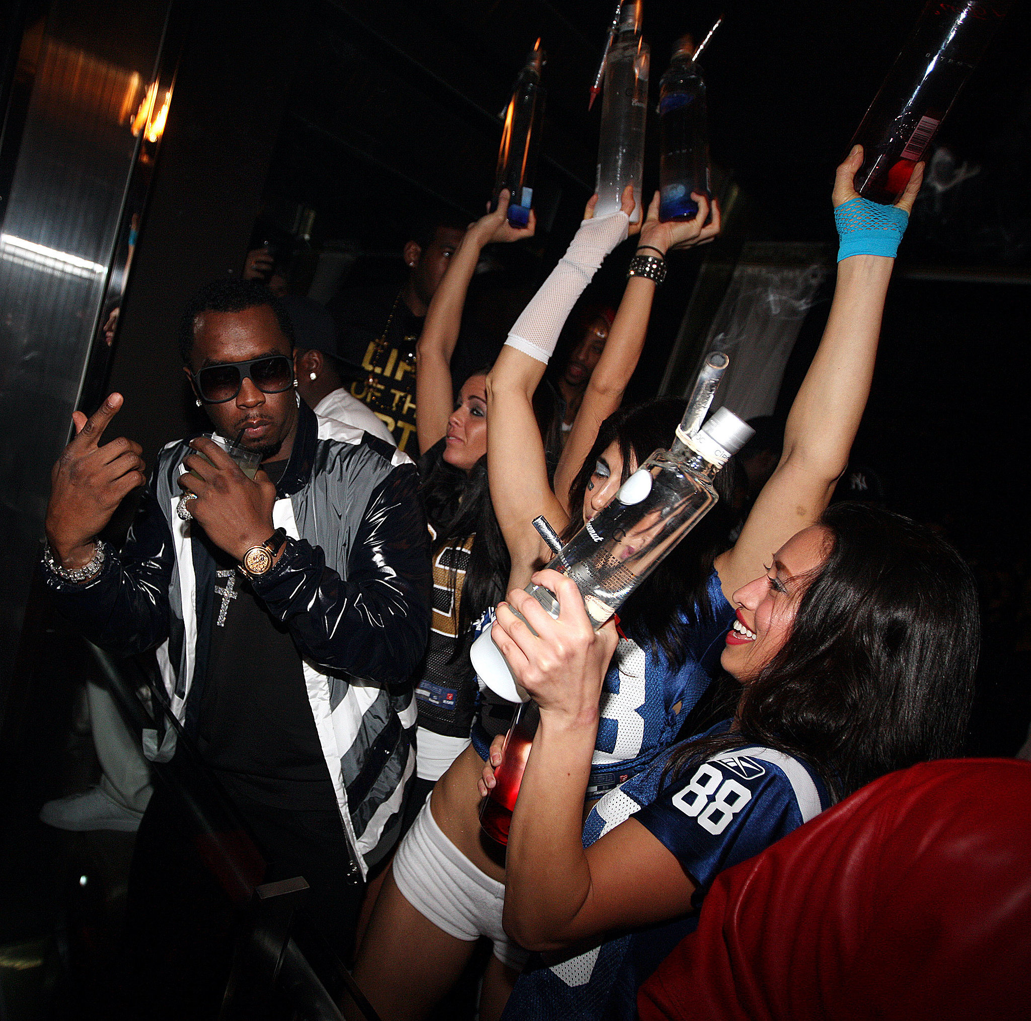 P. Diddy proved nobody throws a party like he does at the Axe