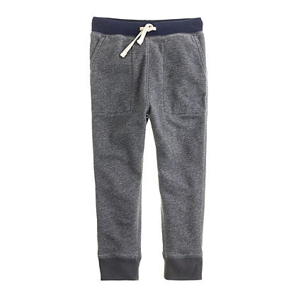 J. Crew Boys' Slim Slouchy Sweatpants
