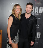 He and ex-girlfriend Cameron Diaz were all laughs at the premiere of Bad Teacher in June 2011.