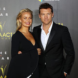 Lara Bingle at 2014 AACTA Awards