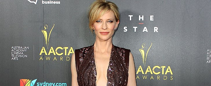 Cate Blanchett Takes Us on a Red Carpet Gilt Trip!