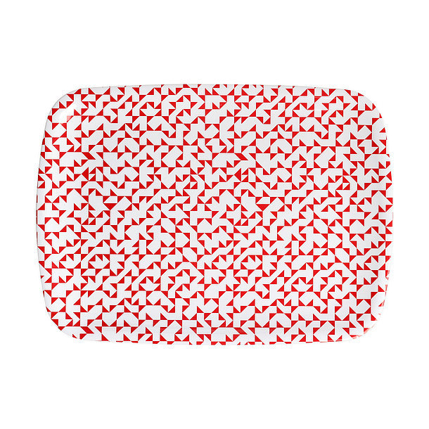 This red tray ($14, originally $24) is a great addition for Valentine's Day but also makes a colorful accent piece throughout the year.