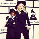 Madonna and David Banda were a matching pair at the Grammys. Source: Instagram user Madonna