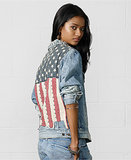 Ralph Lauren Denim & Supply American Flag Jean Jacket