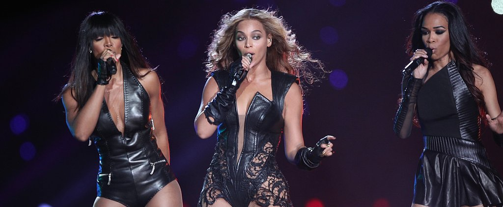 Flash Back Friday to Beyoncé's Stylish Super Bowl Performance!