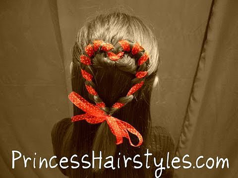 Ribbon Heart Braid Tutorial