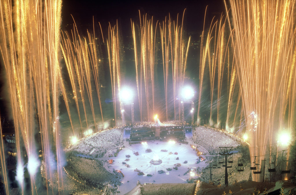 That year, the fireworks were kind of insane.
